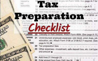 Alderwish CPA, PLLC's 2017 Tax Preparation Checklist